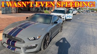 You Won't Believe Why I Got Pulled Over In My Shelby Mustang