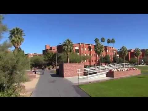 University of Arizona Campus In Tucson, AZ (11/24/14)