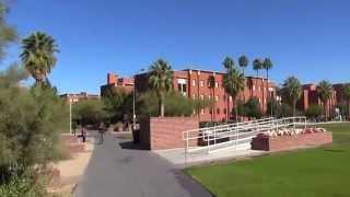 University of Arizona Campus In Tucson, AZ (11/24/14)