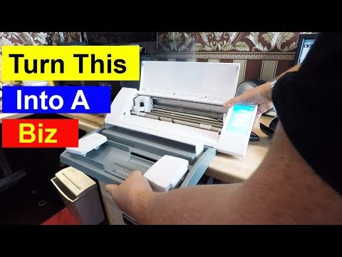 Start A Business With A Vinyl Cutter | Easy To Do