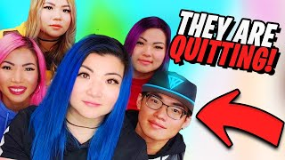Why Itsfunneh and the krew are quitting‼️ #ItsFunneh #PaintingRainbows