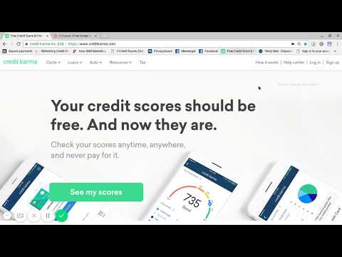 How to sign up for Credit Karma
