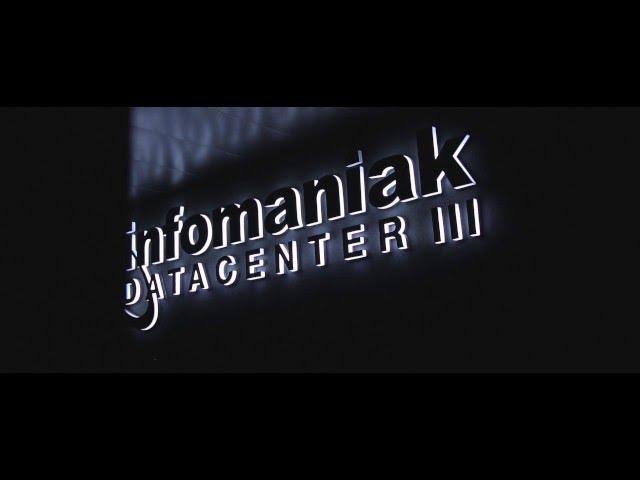 Infomaniak Datacenter III - Datacenter écologique en Suisse