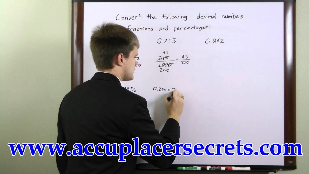 ACCUPLACER Exam Study Guide - Free ACCUPLACER Math ...
