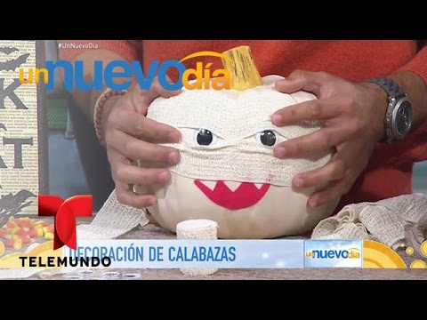 Descubre c mo decorar una calabaza para halloween un for Como decorar una calabaza original