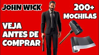 SKIN JOHN WICK FORTNITE * JOHN WICK'S NEW SKIN * & 200 + BACKPACKS | JOHN WICK SKIN COMBOS SEASON 9