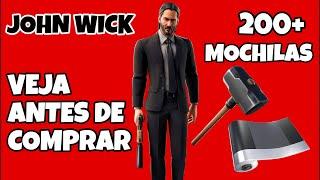 SKIN JOHN WICK FORTNITE *NOVA SKIN DO JOHN WICK* & 200+ MOCHILAS | JOHN WICK SKIN COMBOS SEASON 9