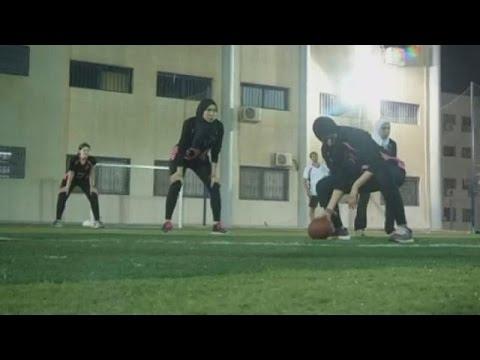 Egyptian women develop interest in American football