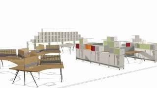 Vidak Ltd - Spirit Office Furniture System.wmv