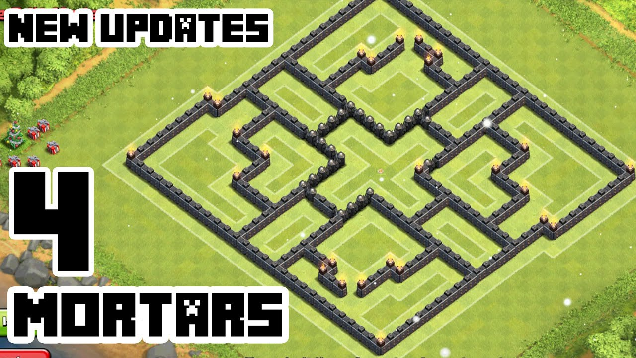 Clash of clans town hall 9 defense coc th9 best hybrid base layout
