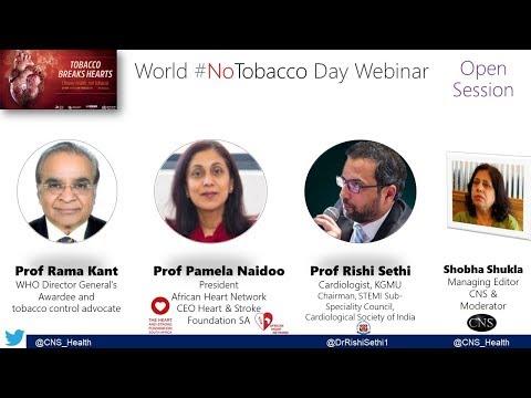 World #NoTobacco Day Webinar: Heart disease and tobacco