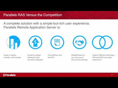 Parallels Remote Application Server demo: Mobile, HTML5 client, One-click Printing, and more!
