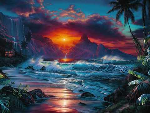 Paesaggio Fantasy Disegno