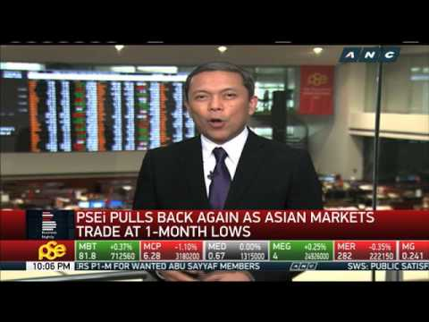 PH stocks pull back again as Asian markets trade at 1-month lows