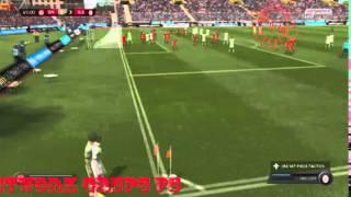 GamePlay Fifa 15 Super Liga Turki Sivasspor vs Galatasaray SK away Full Match #GameNetworkPS