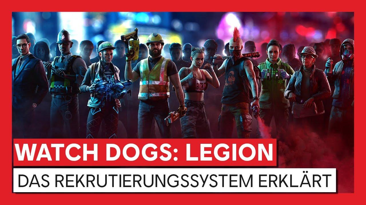 Watch Dogs: Legion - Das Rekrutierungssystem Erklärt