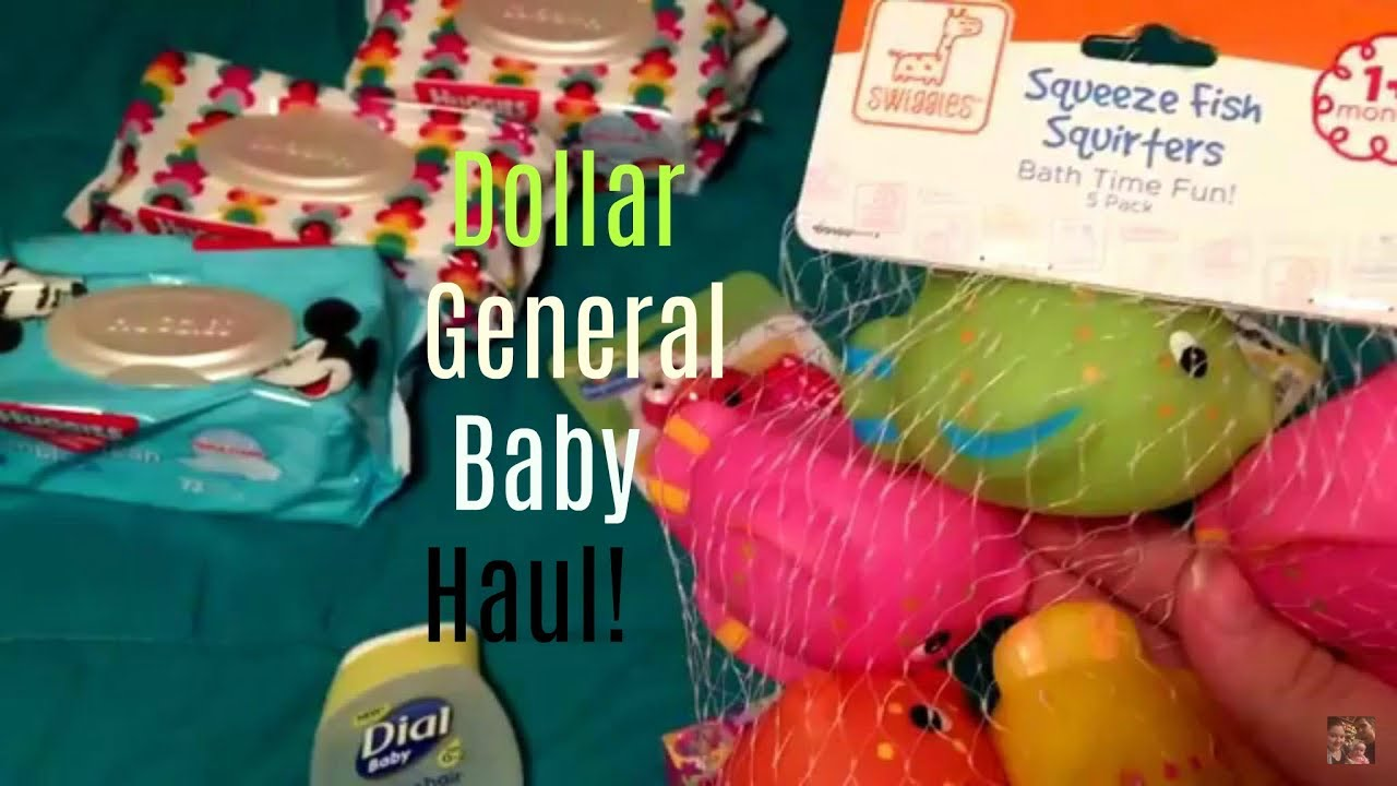 Dollar General haul ~ Baby Items - YouTube