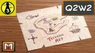 Drawing a Treasure Map