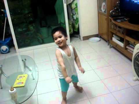 Judsen's dancing skills