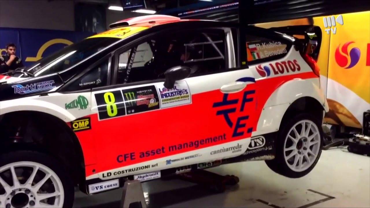Robert Kubica - Monza Rally Show 2014 - YouTube