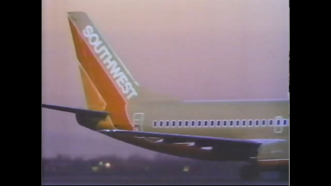 1990 Southwest Airlines Commercials - Peanuts and Mr. Smith