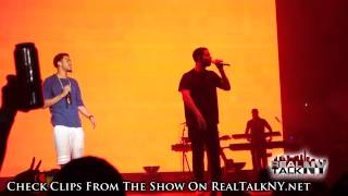 Drake Brings Out J. Cole At OVO Fest 2014
