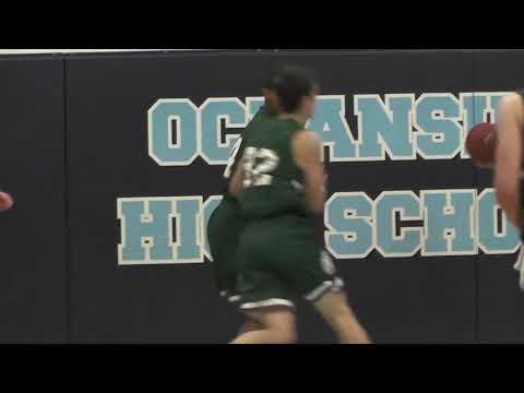 Oceanside vs. MDI Boys Basketball Highlights