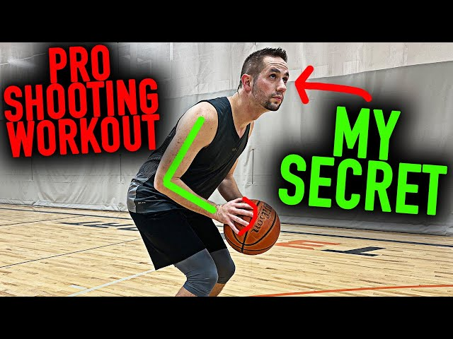 5 Minute Zone Buster Shooting Workout | Basketball Shooting Tips