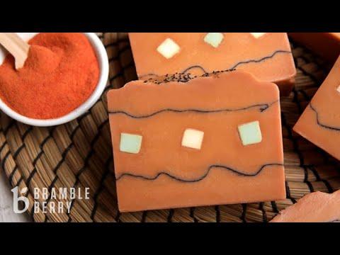 How to Make Tomato Garden Soap