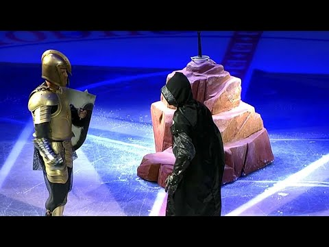 Gotta See It: Golden Knights get creative with introduction against Red Wings