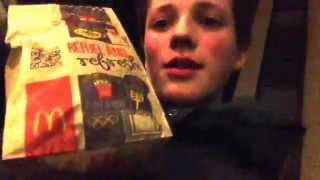 Unboxing McDonalds - Kris unboxer