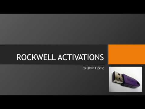 Rockwell Software Activation Options - Rumsey