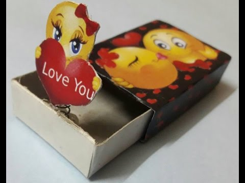 How to make surprise gift for ur bfsurprise handmade gift out of how to make surprise gift for ur bfsurprise handmade gift out of waste materialsmatchbox craft solutioingenieria Choice Image