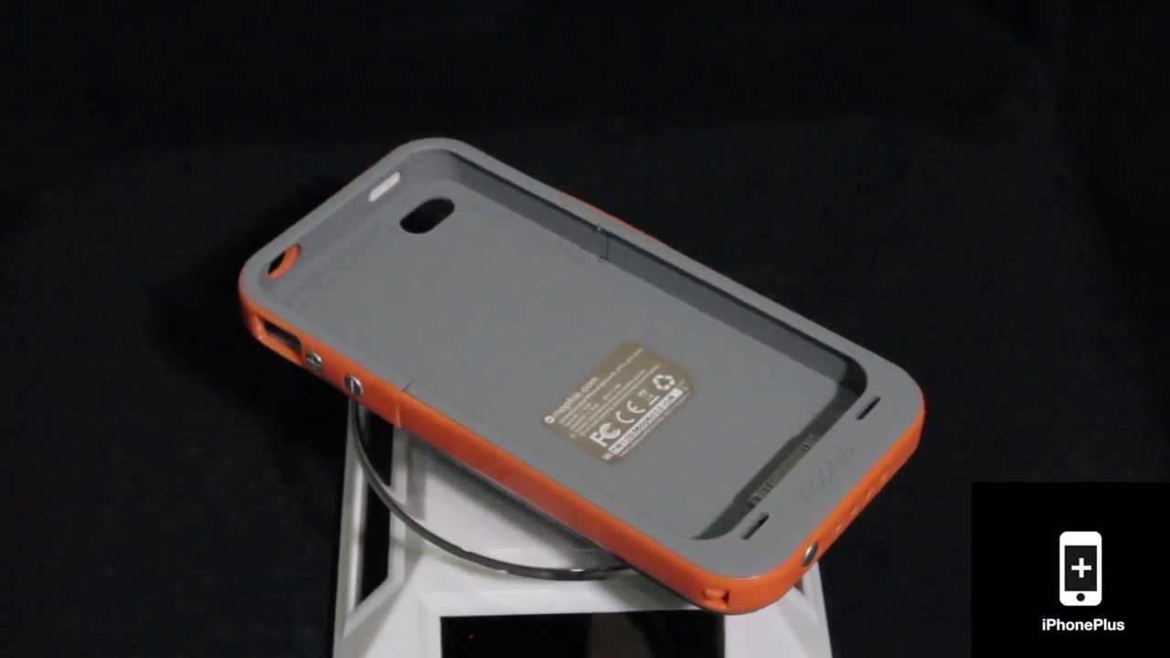 online store 90dac 7cdc6 Mophie Juice Pack Plus® Outdoor Edition - iPhone 4 & 4S Battery Case