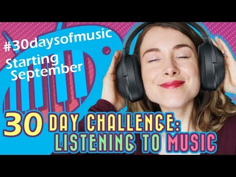 September 30-Day Challenge: Listening to Music