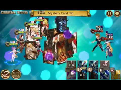 Seven Knights Asia - Celestial Tower Fl 125 [Lee Jung, Lina, Yushin, Yushin, Alice]