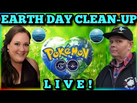 🔴 LIVE NOW 🔴 EARTH DAY CLEAN-UP 🌍 ELLIS ISLAND EVENT 🌍 SPECIAL REWARDS 🌟| POKEMON GO NYC🗽