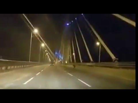 KIGAMBONI BRIDGE AT NIGHT..
