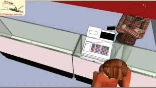 Как установить камеры видеонаблюдения(http://www.security-bridge.com Как установить камеры видеонаблюдения - это видеролик Тима Нортона Small Shop Video Surveillance http://cctvd..., 2013-02-04T12:00:11.000Z)