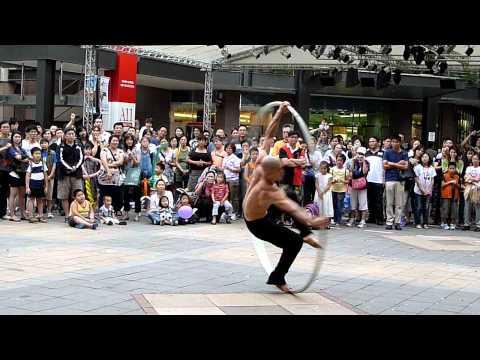 Asian Vitruvian Man