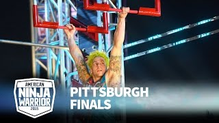 Jamie Rahn at 2015 Pittsburgh Finals | American Ninja Warrior