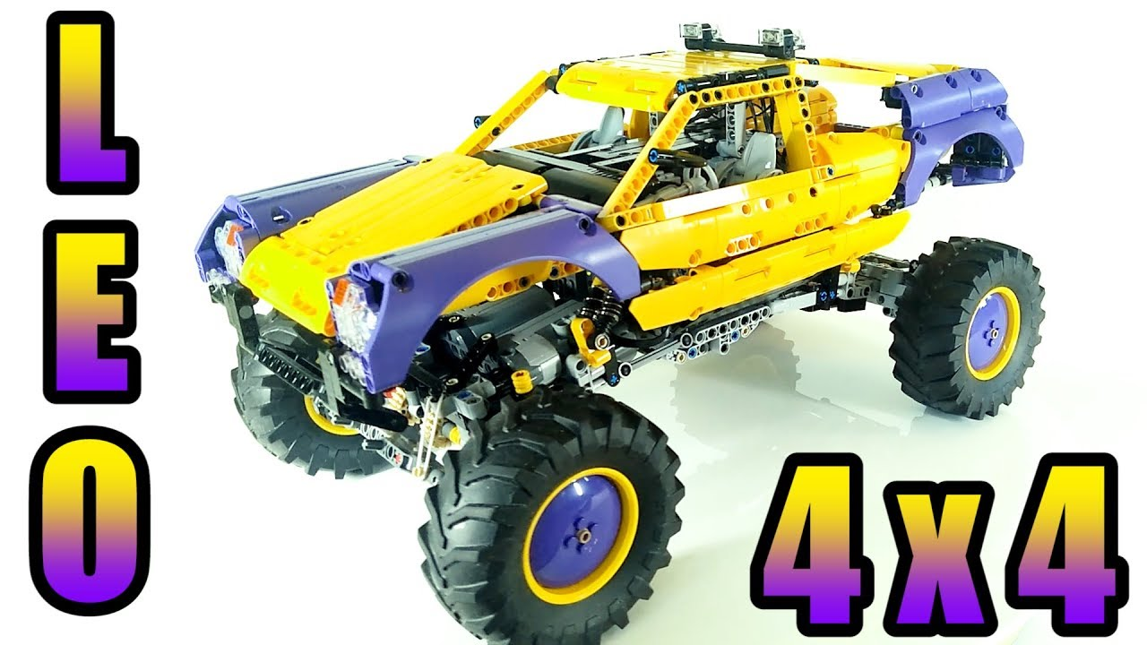 leopard 4x4 fast lego technic offroader youtube. Black Bedroom Furniture Sets. Home Design Ideas