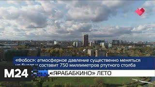 "Смотреть видео ""Москва и мир"": ""прабабкино"" лето и прорыв дамбы - Москва 24 онлайн"