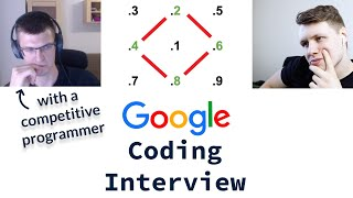 Google Coding Interview With A Competitive Programmer