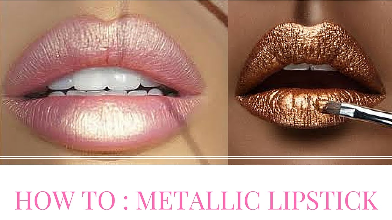 How To Get Metallic Lipstick Without Dealing With Kylie