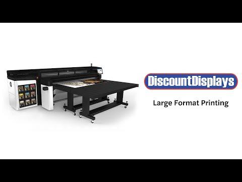 Large Format Printing | Discount Displays