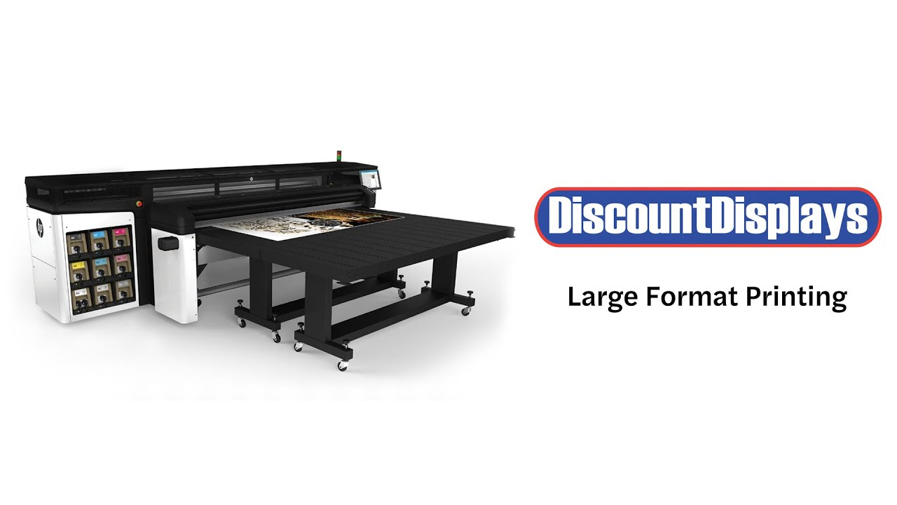 Large Format Printing - Banner, Sticker and Poster Printers