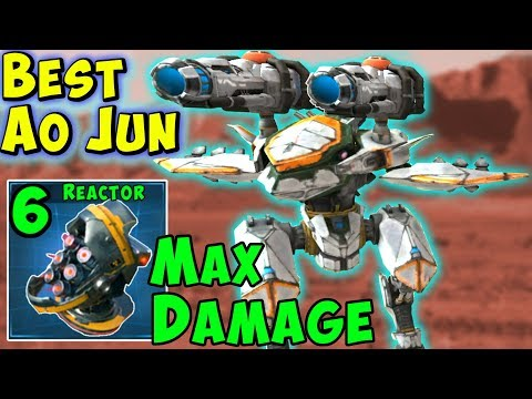 Best Ao Jun Redeemer Max Damage Killer - War Robots Mk2 Gameplay WR