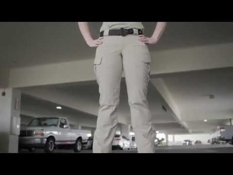 Style 64386 10//Long 5.11 Tactical Womens Stryke Covert Cargo Pants TDU Green Stretchable Gusseted Construction