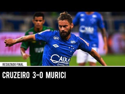 Cruzeiro 3 x 0 Murici - MELHORES MOMENTOS - Copa do Brasil 15/03/2017